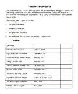 funding bid template free grant templates templates