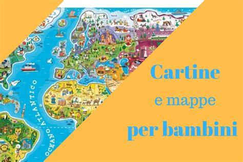 phairzios italia cartine geografiche e mappe di viaggio per bambini