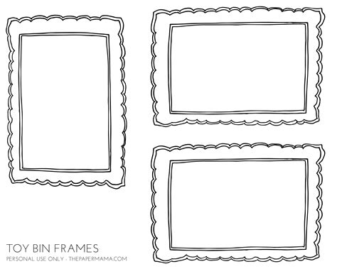 Free Printable Storage Labels Bin Labels Template