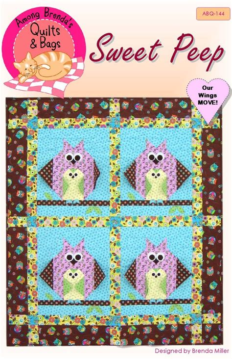pattern for baby wall hanging pattern sweet peep baby quilt or wall hanging among