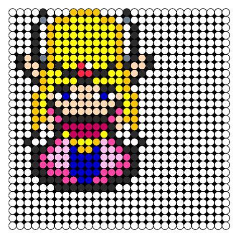 zelda bead pattern princess zelda perler bead pattern bead sprites
