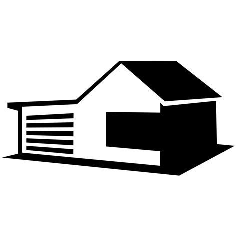 vector for free use house with garage