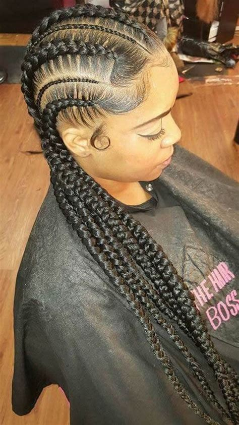 Big Braids Hairstyles by Braided Hairstyles For Black 30 Impressive