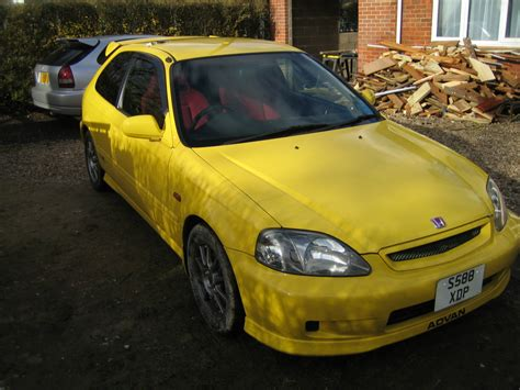 yellow for sale cars for sale ek9 honda civic type r yellow 77k sold