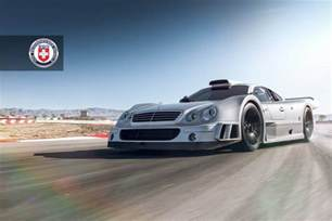 Mercedes Clk Lm Stunning Mercedes Clk Gtr With Satin Black Hre Wheels