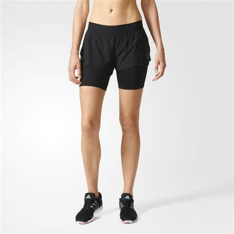Sock 2in1 adidas 2 in 1 s running shorts aw16 sportsshoes