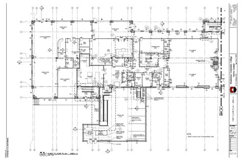 exle of floor plan drawing floor plan construction drawing exle construction