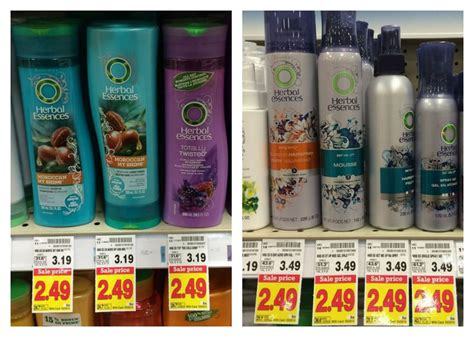 shop with coupon cvs clearance select herbal essences kroger herbal essences product only 0 99