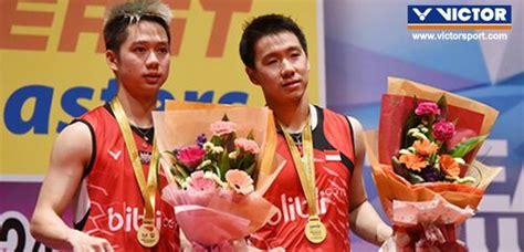 Sepatu Badminton Gideon victor malaysia masters 2016 kevin persembahkan