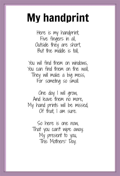 mothers day poems  wow style