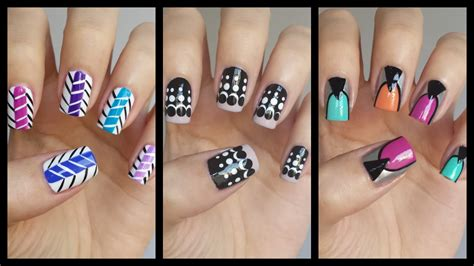 easy nail art for beginners 7 easy nail art for beginners 16 missjenfabulous youtube