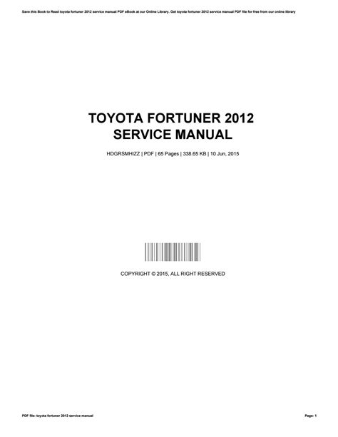 service manual service and repair manuals 2012 toyota rav4 windshield wipe control service toyota fortuner 2012 service manual by patriciamiller2583 issuu