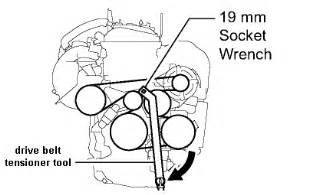 Toyota Camry Serpentine Belt Replacement 2az Fe Serpentine Belt Tensioner Autos Weblog