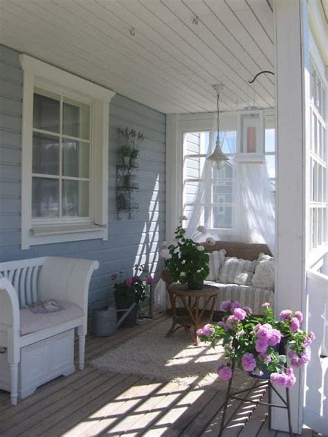outside porch outside porch seat rest area whitewashed cottage