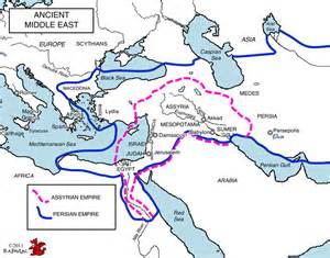 Ancient Near East Map Outline by Concisewesternciv