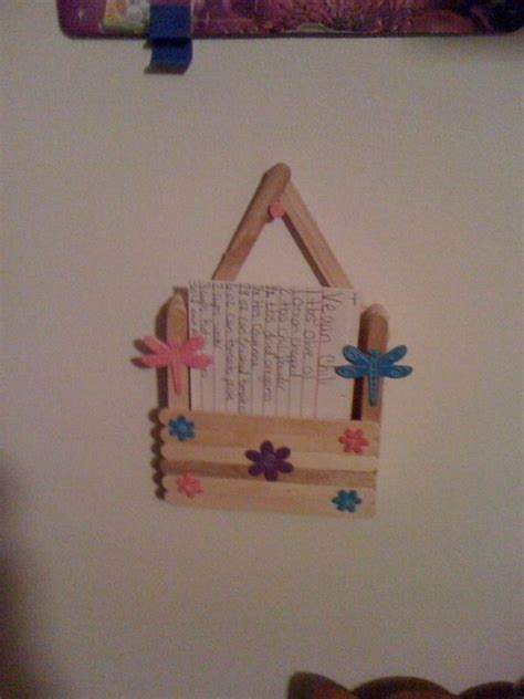 craft stick project ideas best 25 recipe holder ideas on tablet holder