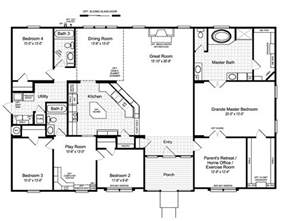 hacienda plans the hacienda ii vr41664a manufactured home floor plan or