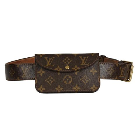 louis vuitton bumbag monogram lv logo fanny pack belt