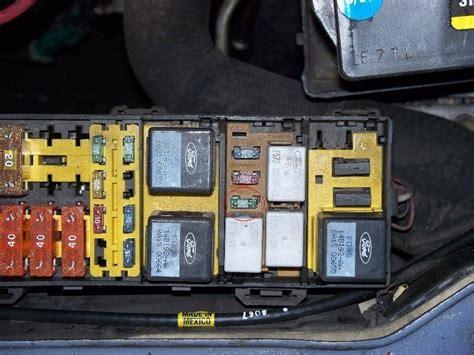 ford taurus fuse box location fuse box  wiring