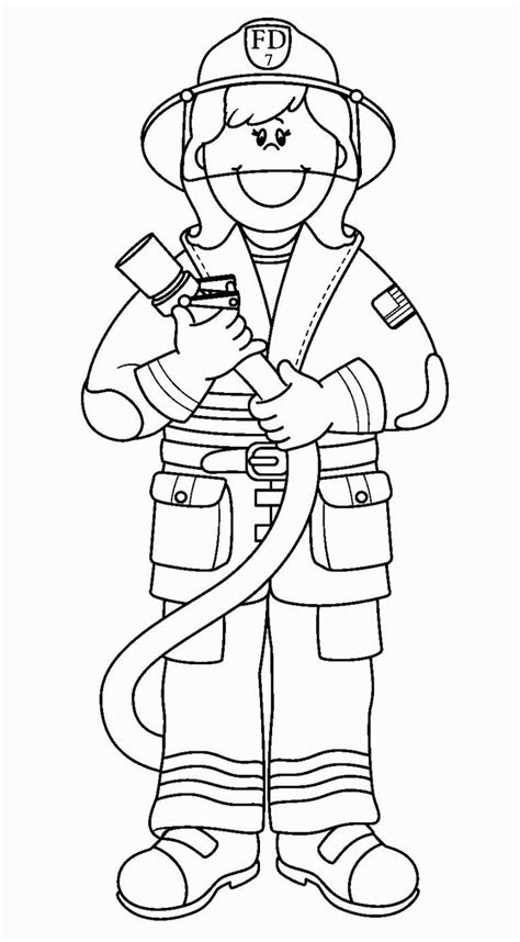 Thank You Fireman Coloring Pages by 83 Firefighter Coloring Pages Free Printable Thank