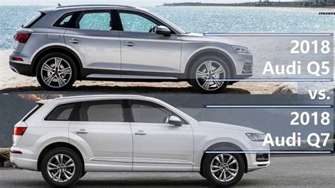 Difference Between Audi Q3 And Q5 by 2018 Audi Q5 Vs 2018 Audi Q7 Technical Comparison