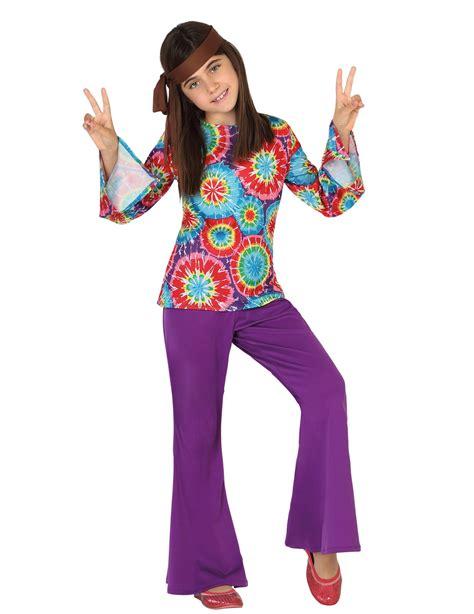 vestito di carnevale figli dei fiori fai da te disfraz hippie ni 241 a disfraces ni 241 os y disfraces