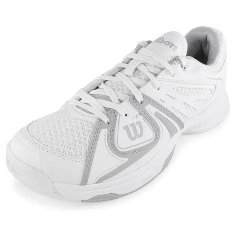 wilson s 2 tennis shoes white and gray ebay