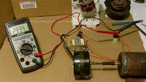 induction generator ac or dc small induction motor conversion to generator exle
