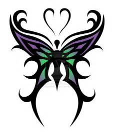 tribal butterfly tattoo design tattoobite com