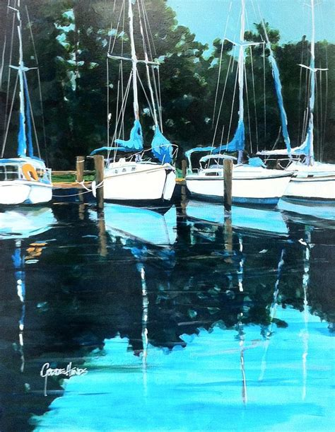 Superb Hinds Canvas #3: Quiet-harbor-gordie-hinds.jpg