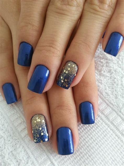 N Gel Blau by Fantastische Nageldesigns Mit Glitzer Nagellack Archzine Net