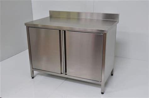 poign馥 de meuble cuisine inox meuble inox sur mesure