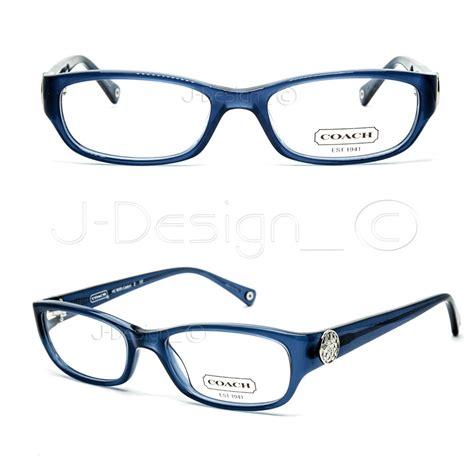 coach hc6008 cadyn 5028 blue eyeglasses rx eyewear