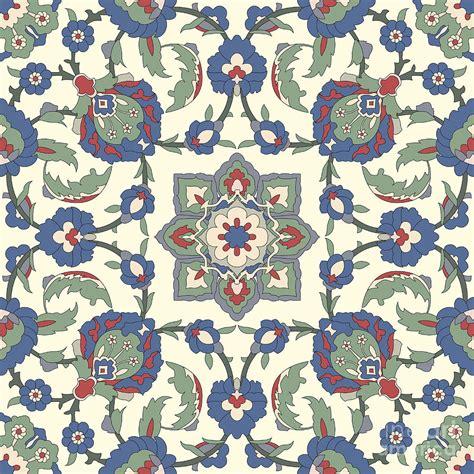 Modern Design Duvet Covers Arabesque Seamless Pattern 02 Digital Art By Pablo Romero