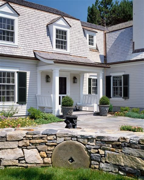 casco bay maine renovation traditional entry
