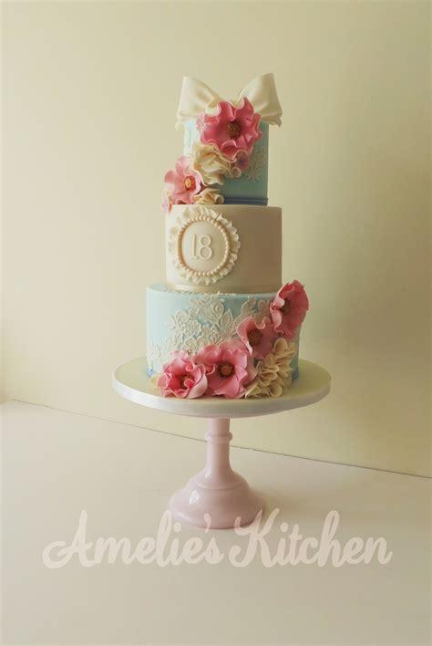 vintage themed birthday cakes vintage 18th birthday cake cakecentral com