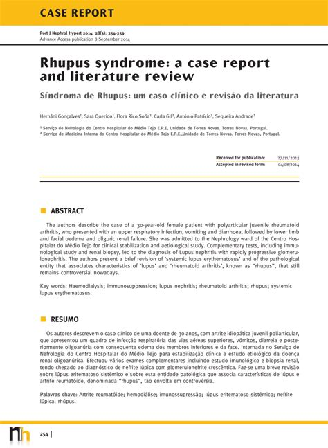 literature review report sle ruphus a report and literature review pdf