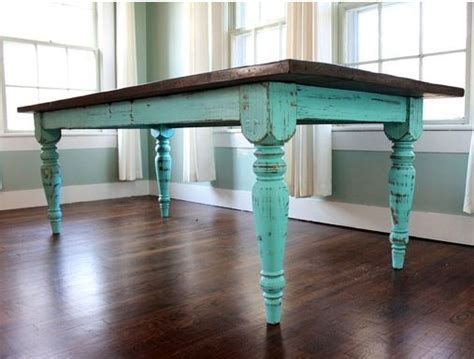 distressed dining room table green distressed dining table derektime design how to