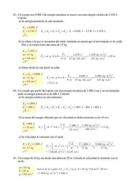 fsica y qumica serie 8468017426 87 fsica y qumica ejercicios resueltos del tema 9 energa 1 texto no magnitudes fisicas y