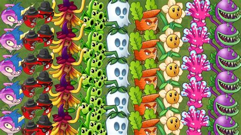 tattoo extreme plantas vs zombies every plants max level all tiles extreme power up plants