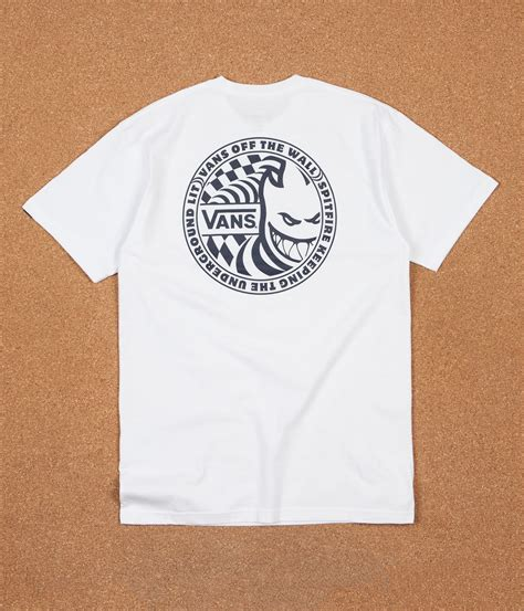 T Shirt 1 vans x spitfire photo t shirt 1 white flatspot