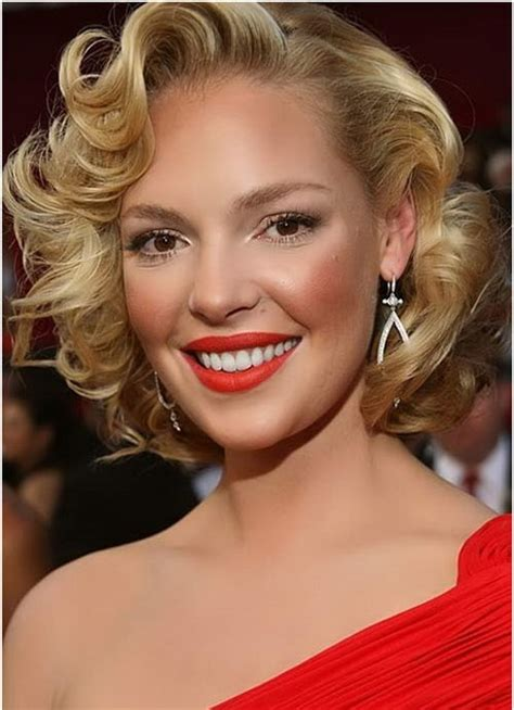 curly hairstyles glamour glamorous hairstyles for short hair
