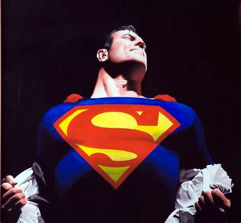 Kaos Superman Logo Alex Ross why the world needs superman