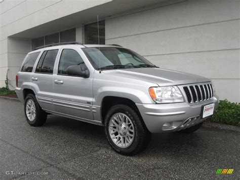 silver jeep grand cherokee 2002 bright silver metallic jeep grand cherokee limited