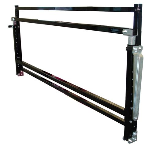 tire rack 48 quot wall mount adjustable folds closed