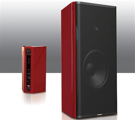 clarityhd model one powered bookshelf speakers