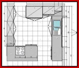 Kitchen Design Blueprints Kitchen Floor Plan Ideas Afreakatheart