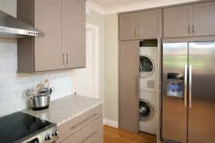 laundry room in kitchen design ideas