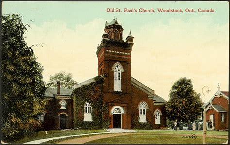 woodstock churches