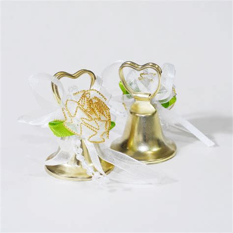Wedding Favors Bells by 24pcs Gold Shaped Wedding Bells Reception Marriage
